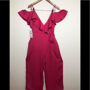 Zara Basic Cute Pink Jumpsuit